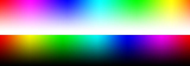 Grainger Rainbow sRGB